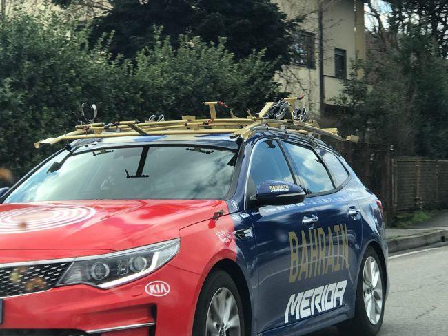 Milano-Sanremo 2018 al via: la squadra di Vincenzo Nibali si allena in Brianza