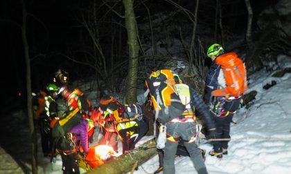 Precipita sul Grignone col parapendio, salvato dal Soccorso Alpino ECCO LE FOTO SPETTACOLARI