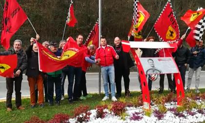 Ferrari Club festeggia la vittoria del Cavallino
