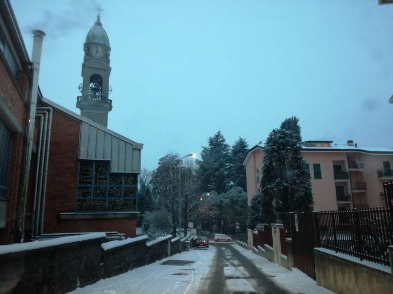 Big snow nessun pericolo bomba di neve sul Canavese