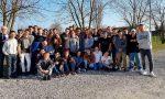 I ragazzi del Cfpa in visita all'Alma con il papà di Riccardo Galbiati FOTO