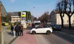 Ciclista investito a Cisano Bergamasco FOTO