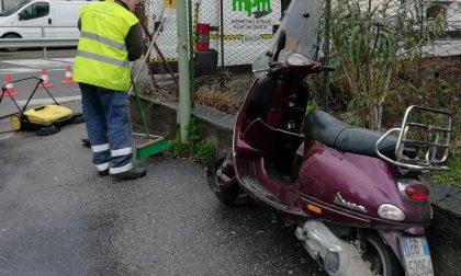 Schianto in moto: grave motociclista  di 59 anni