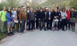 Sentiero Passo del Lupo, 30 giovani volontari al lavoro per ripulirlo