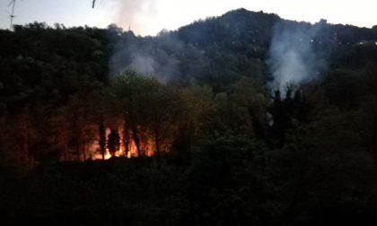 Incendi boschivi è allerta rossa da oggi fino a martedì, anche a Bergamo