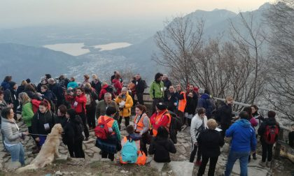 102 persone alla passeggiata dei volontari del Soccorso Calolziocorte