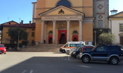 Malore in basilica, anziano soccorso