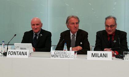Montezemolo a Lecco svela i risultati della Maratona Telethon: raccolti oltre 300mila euro FOTO