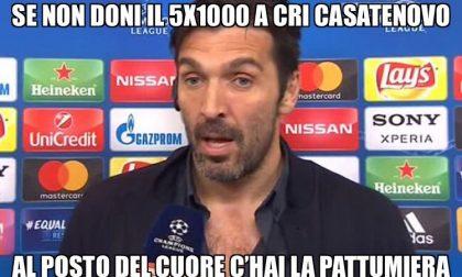Gigi Buffon testimonial… della Croce Rossa Casatenovo