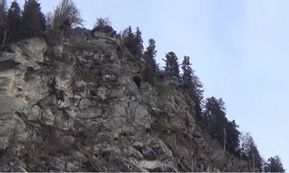 Nuovo allarme frana in Valchiavenna, chiusa la Satale 36