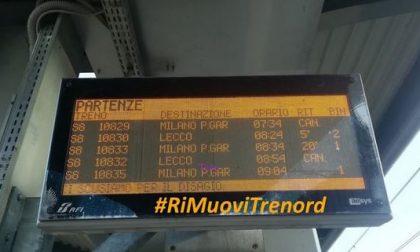 #RiMuoviTrenord, domani presidio dei pendolari