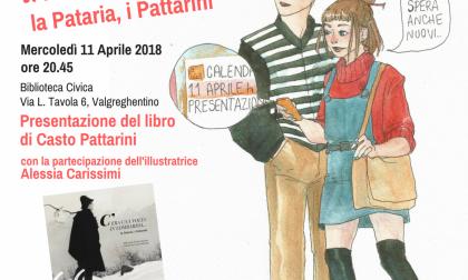 Casto Pattarini presenta le sue storie lombarde a Valgreghentino