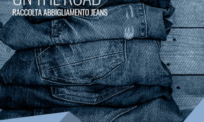 Raccolta jeans al Cag di Merate