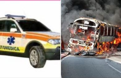 """Bellano senza auto medica: """"Assurdo abbiamo ancora negli occhi il bus in fiamme"""""""