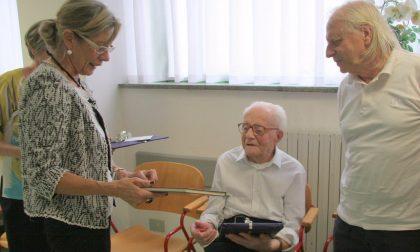 Si è spento a 103 anni  l'uomo più anziano di Valmadrera