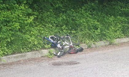 Paura per un ciclista di 12 anni investito