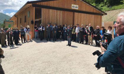 Inaugurata a Visso la stalla realizzata dagli alpini