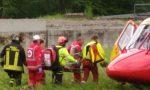 Grave incidente sul lavoro, ferito imprenditore FOTO