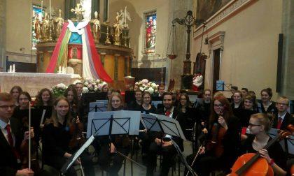 Concerto dell'orchestra di Weissenhorn a Valmadrera