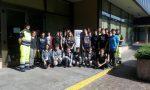 Protezione civile e ragazzi alla sede regionale FOTO