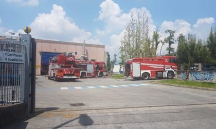 Incendio in fonderia a Sirone