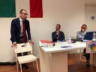 Business e scambio di referenze agli incontri di LIA FOTO