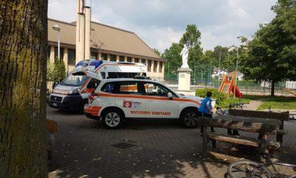Ambulanza all'oratorio di Molteno paura per un 13enne