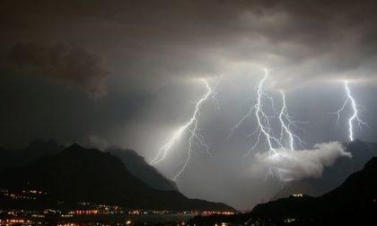 Meteo: allerta arancione per forti temporali in Lombardia