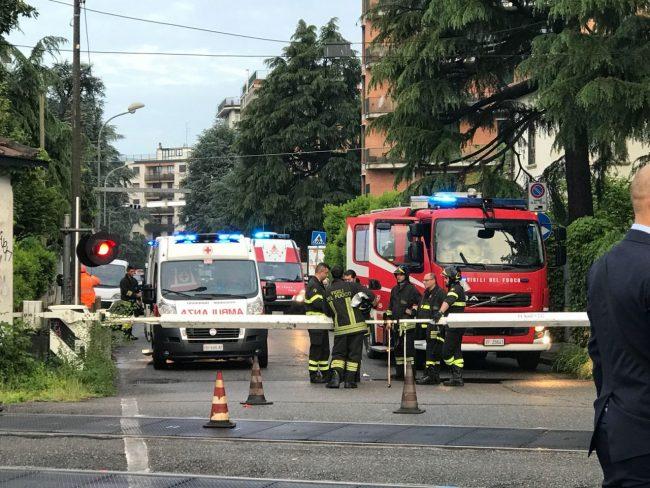 Travolto da un treno a Monza, circolazione ferroviaria in tilt