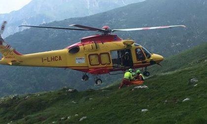 Malori e incidenti in montagna: morto un uomo di 70 anni, salvato un 50enne sul Grignone