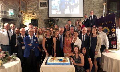 Nuovo socio per il Lions Club Lecco Host allo scambio delle cariche dei presidenti