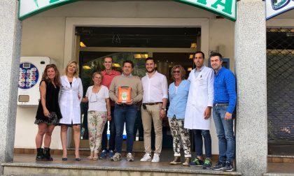 Consegnato il defibrillatore grazie alla gara di sci per Ricky Galbiati