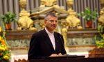 Il sindaco Brivio saluta e ringrazia Monsignor Cecchin