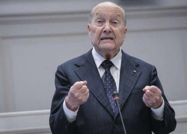 Paolo Grossi, presidente emerito della Corte Costituzionale, domani sarà a Lecco