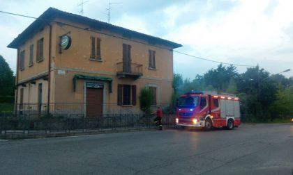 Incendio allo storico pub di Montevecchia FOTO