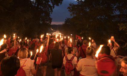 Croce Rossa di Lecco presente alla fiaccolata di Solferino FOTO