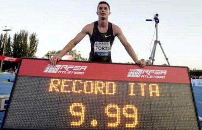 Il brianzolo Tortu è l&#8217&#x3B;italiano più veloce di tutti i tempi: 9.99!