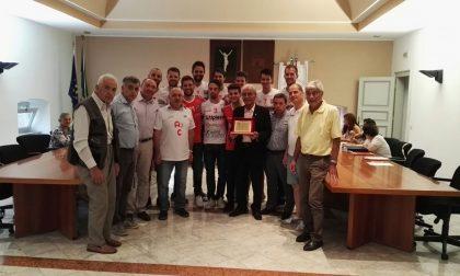 Pallavolo Cisano i campioni accolti in Consiglio comunale FOTO