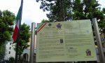 A Germanedo una targa dedicata al V Reggimento alpini