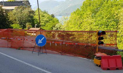 La denuncia: strade sul lago  disastrose FOTO