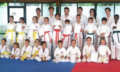 Le nuove colorate del Nihon Karate di Cassago