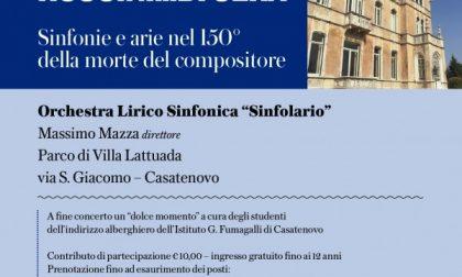 Appuntamento a Casatenovo con Rossini di sera