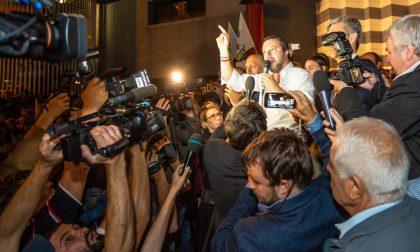 """Matteo Salvini: """"più sicurezza e più lavoro, meno tasse e meno clandestini"""""""