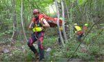 Ritrovato  uomo morto tra i rovi di un bosco