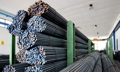 Importazione prodotti siderurgici, Lecco quinta in Italia nel I trimestre all'anno