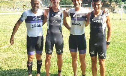 Ecorace Triathlon Olimpico per quattro 3Life