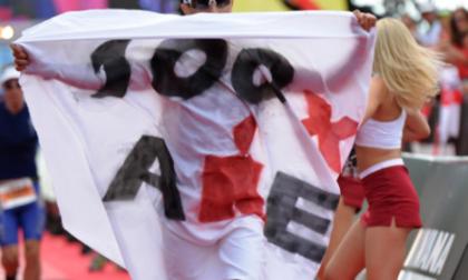 Amedeo Bonfanti recordman in Italia, ha corso 100 IronMan
