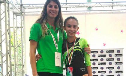 As Merate Gym in festa, Giulia Stetco campionessa italiana