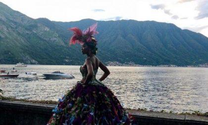 Dolce e Gabbana a Como: Naomi Campbell regina del lago FOTO