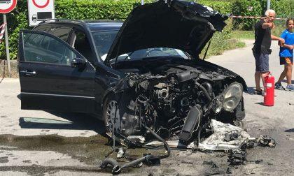 Strada chiusa tra Oggiono e Molteno causa incidente FOTO